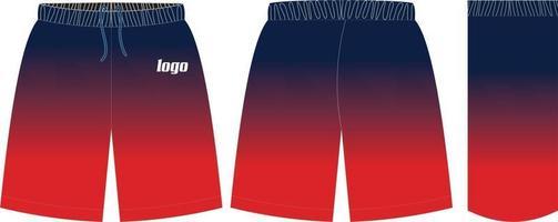 Custom Design Shorts vector