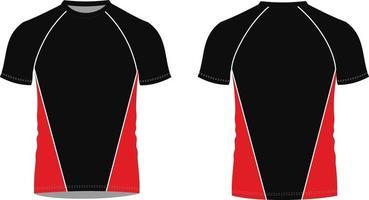 camisetas mock ups ilustraciones vector