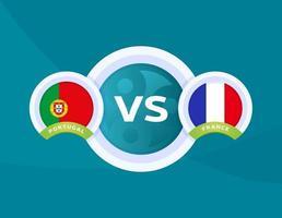 Portugal vs France football