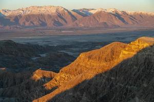 Sunrise at the Anza-Borrego desert in southern California