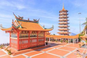 Pagoda at Chin Swee Temple, Genting Highlands Malaysia, 2017.