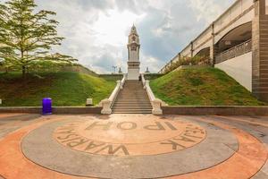 Memorial de abedul en Ipoh, Perak, Malasia, 2017