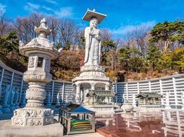 Beautiful Buddhism Statue in Bongeunsa Temple