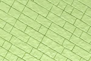 Ilustración 3d de una pared verde