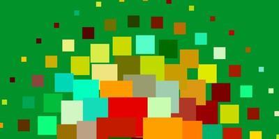 diseño de vector multicolor claro con líneas, rectángulos.