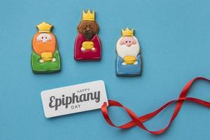 Three Kings Epiphany Day cookies