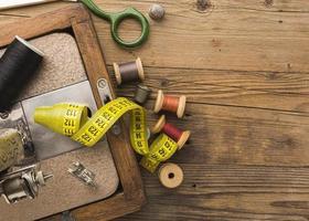 artículos de la máquina de coser foto
