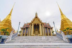 Wat Phra Kaew Temple in Thailand photo