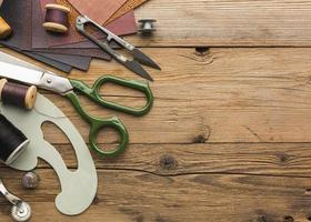 coser artículos y espacio de copia