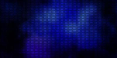 Dark Pink, Blue vector backdrop with rectangles.