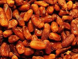 Pile of dried dates photo