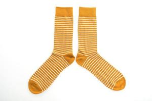 calcetines sobre fondo blanco