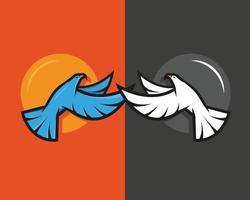 Two Bird Icon or symbol