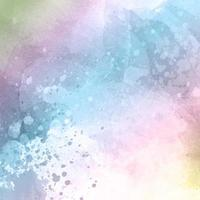 pastel coloured watercolour texture background vector