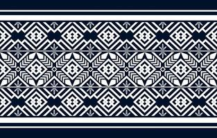 Geometric ethnic pattern traditional design background vector
