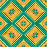 Geometric ethnic pattern traditional design background