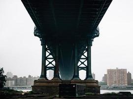 Puente de Manhattan en Nueva York