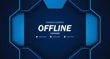 fondo moderno salvapantallas offline stream gaming azul oscuro futuro tecnología puerta fondo