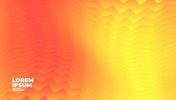 Fondo degradado naranja abstracto con espacio para texto y mensaje. vector