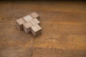 Blocks in a pyramid