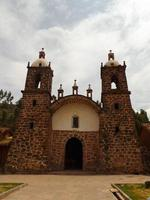 Old church in remote Peru photo