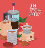 coffee banner vector design