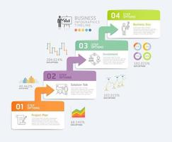 Business Infographics design template. Vector illustration. Can be used for workflow layout, diagram, web designs.