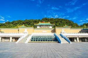 el museo del palacio nacional en la ciudad de taipei, taiwán