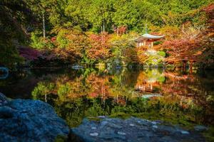 templo daigoji en kyoto, japón foto