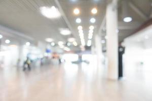 Fondo abstracto aeropuerto borrosa
