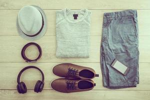 Fashion set for men photo
