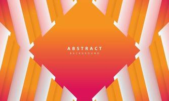 Modern abstract gradient orange and white background. Design template for banner, posters, cover,etc. vector