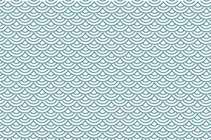 Abstract Fish Scale Pattern vector