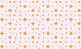 Beautiful Flower Pattern Background