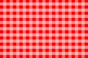Red Gingham Pattern Background