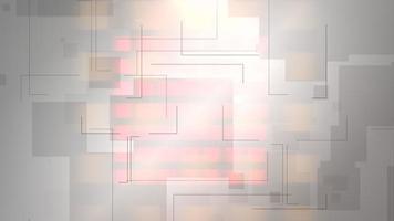 nieuws intro grafische animatie met lijnen en vorm, abstracte achtergrond