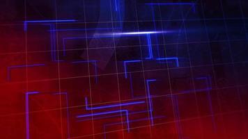 nieuws intro grafische animatie met lijnen en wereldkaart, abstracte achtergrond