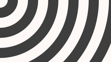 rörelse intro geometriska svartvita spirallinjer, abstrakt bakgrund video