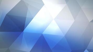 rörelse trianglar abstrakt bakgrund video