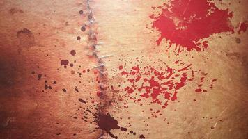 animation mystisk skräckbakgrund med mörkt blod, abstrakt bakgrund video