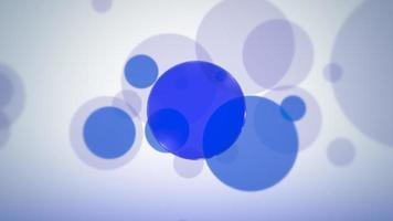 fundo abstrato dos círculos de movimento