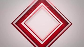 fond abstrait de carrés de mouvement video