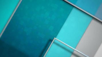 beweging blauwe vierkanten abstracte achtergrond