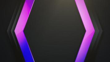 beweging kleurrijke zeshoek abstracte achtergrond