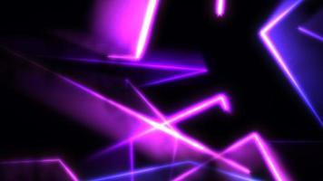 beweging kleurrijke neon lijnen abstracte achtergrond