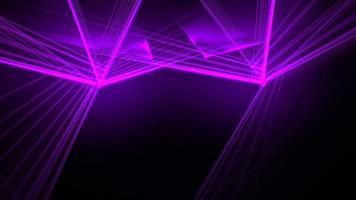 beweging kleurrijke neon lijnen abstracte achtergrond video
