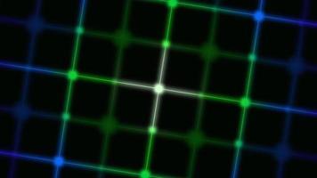 rörelse retro linjer abstrakt bakgrund video