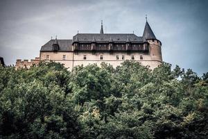 república checa 2016 - castillo de karlstejn en república checa foto