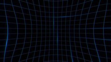 Bewegung Retro Linien abstrakten Hintergrund