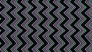 movimento retro zig zag abstrato